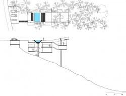 House in Ubatuba - Site Plan