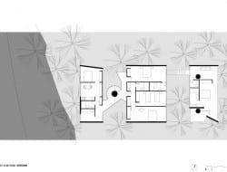 House in Ubatuba - Bedroom Level Plan