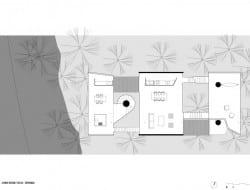 House in Ubatuba - Living Room Level Plan