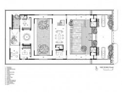 Enclosed Open House - 1st Level Plan