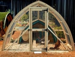 Hobbit hole meets chicken coop! Thumbs up or thumbs down?