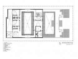Enclosed Open House - 2nd Level Plan