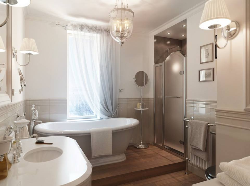 Would this bathroom help you relax? What would you change to make it yours?