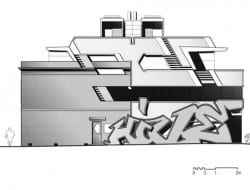 The Hive Apartment - Elevation