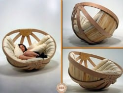 Is this the modern equivalent of a papasan chair? Designed to create a safe, comfortable and relaxing environment in which the user can dissipate the overstimulation of their senses.