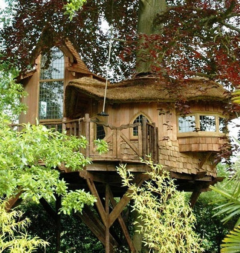 The people who live here must feel like they live in a fairy tale.