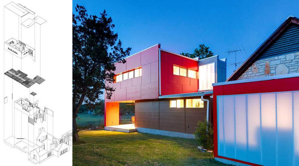 San Marcos Sleeping House – when colour meets panache