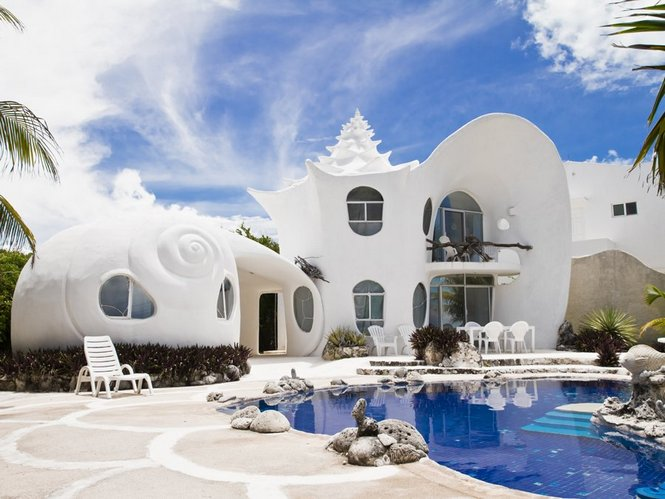 Conch Shell House The Owner Builder Network - Conch-shell-house