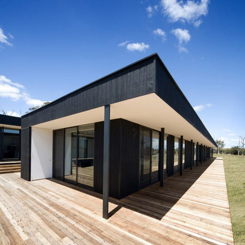 Modular design in rural victoria the owner builder network for Modular homes with inlaw apartments