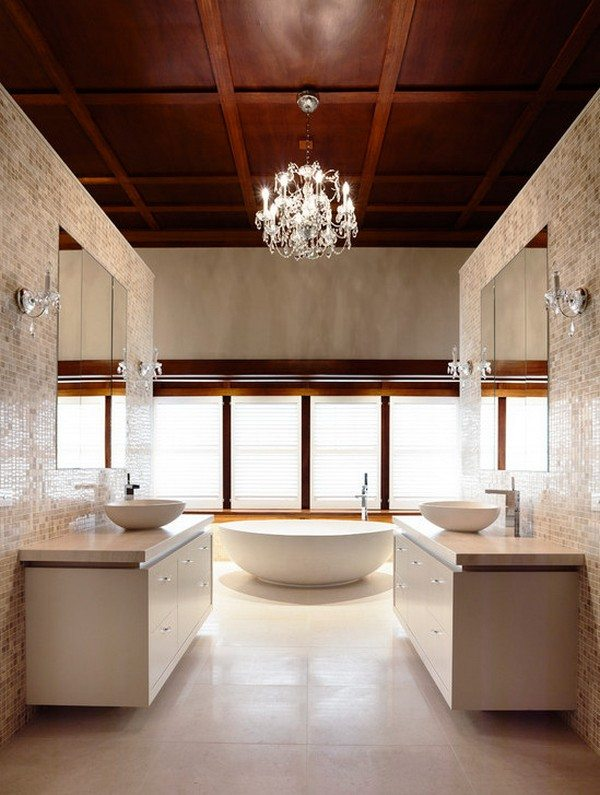 Crystal in the bathroom - Canny Design Melbourne