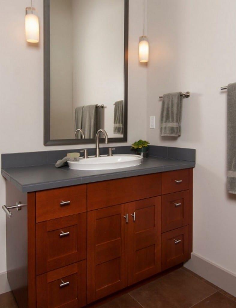 This bathroom designed by Scott Gilbride/Architect Inc.