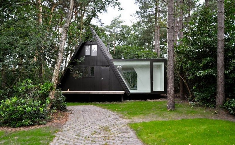 A-Frame - Brecht, Belgium - Partition open