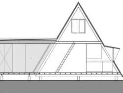 A-Frame - Brecht, Belgium - Section