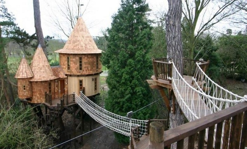 Fairytale Treehouse by BlueForest - http://www.blueforest.com/