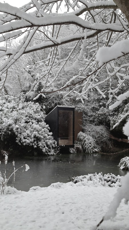 Forest Pond House – a meditation space and playhouse