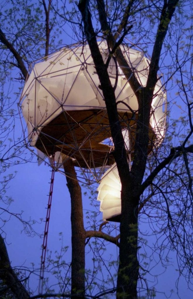 Geodesic Tree House