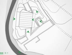 Base Valley House - Site Plan