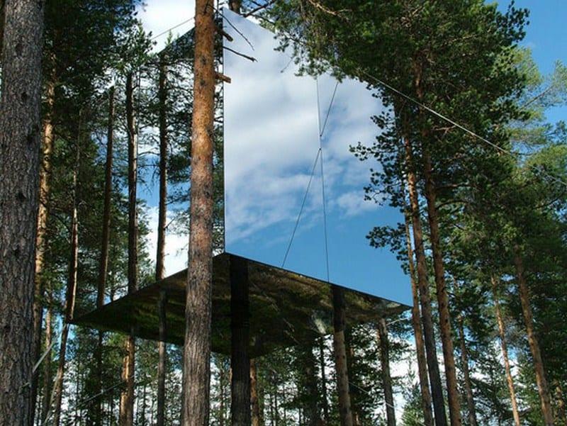 Tree Hotel by Tham Videgard Hansson Arkitekts - http://www.tvark.se/treehotel/