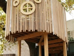 Tree House by Fitzgerald Frisby Landscape Architecture - http://ffla.com.au/#/treehouse/