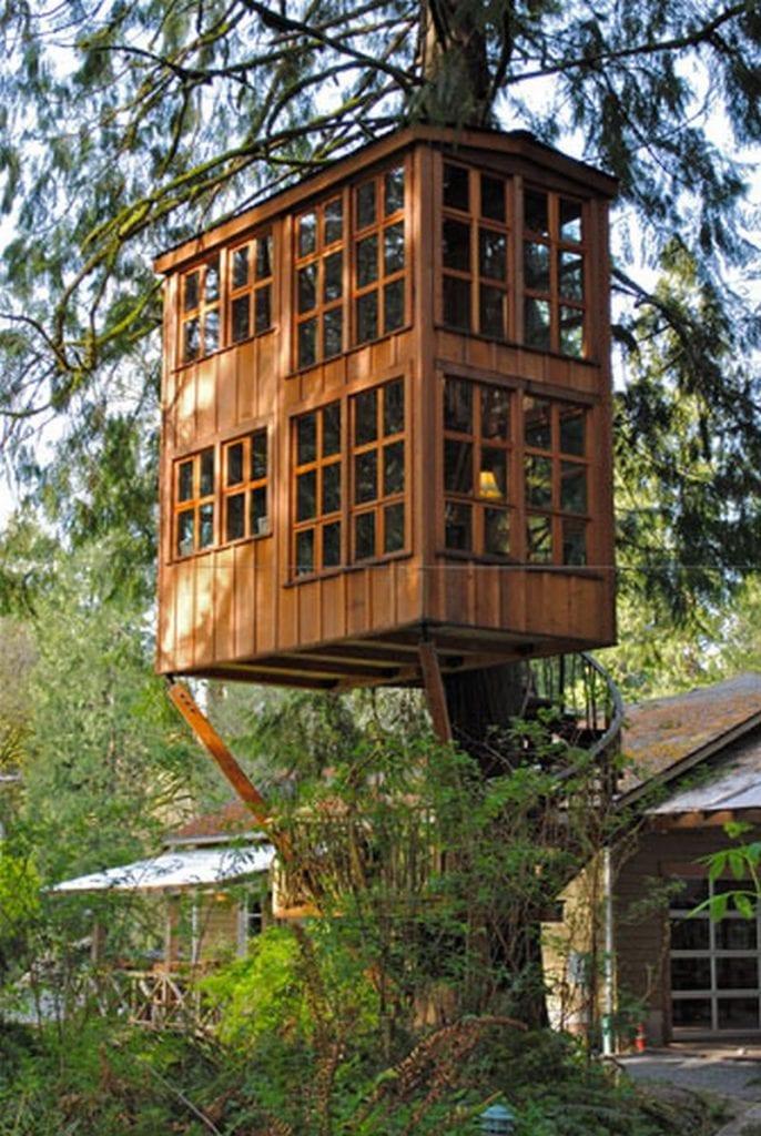 Treehouse Point by Trillium - http://www.treehousepoint.com/treehouses-trillium.html