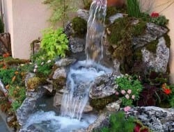 A water feature can add calm and serenity to your outdoor space or garden.