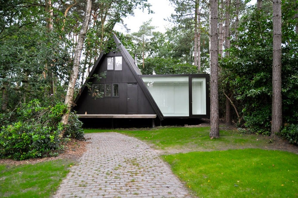 A-Frame - Brecht, Belgium - Partition closed