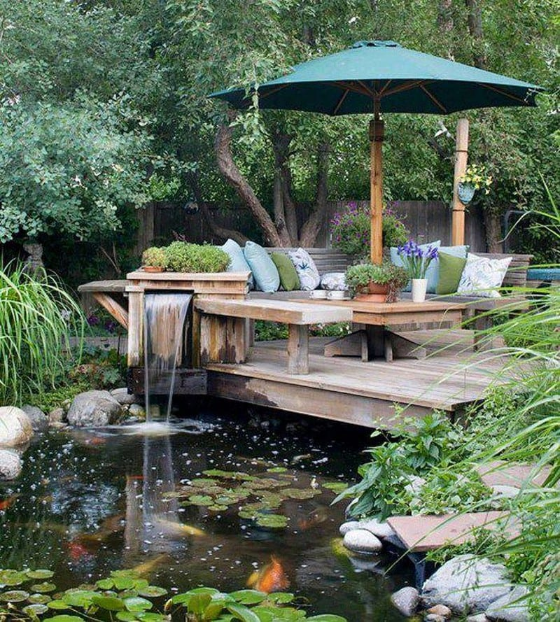 The Owner Builder Network: Water Gardens And Features
