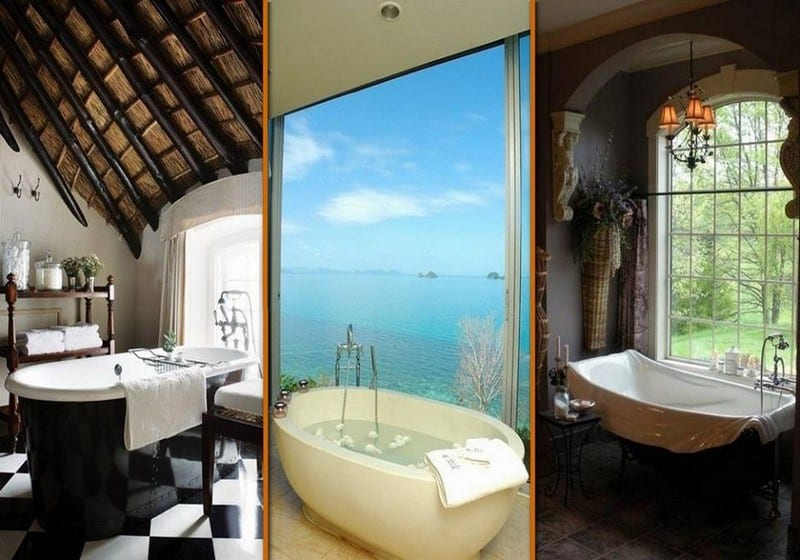 These might get you clean, but these are three very different bathtubs! Which one is 'you'?