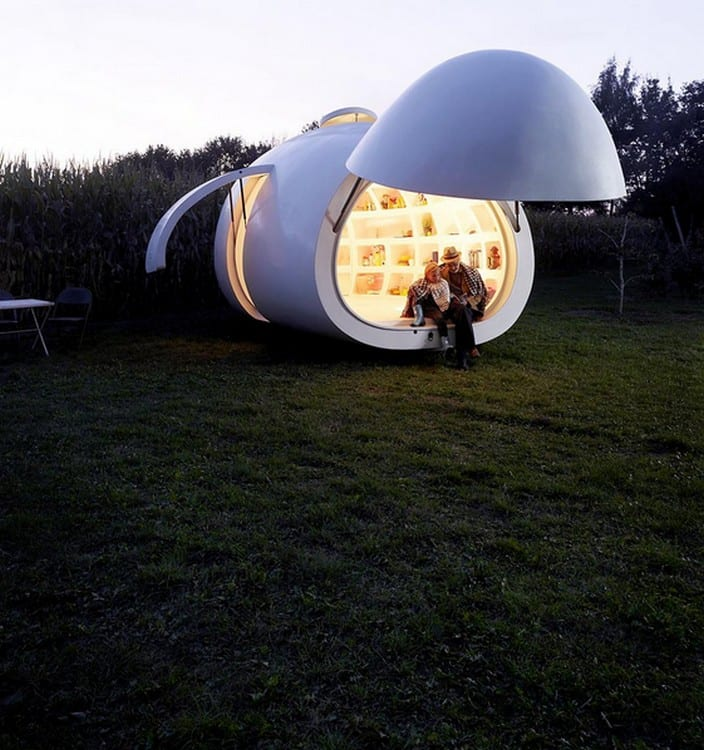 blob 10 by dmvA Architecten