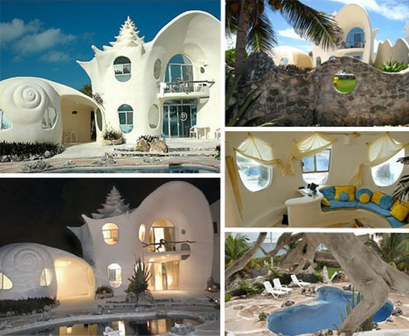 Shell House Part - 15: The Conch Shell House - Isla Mujeres