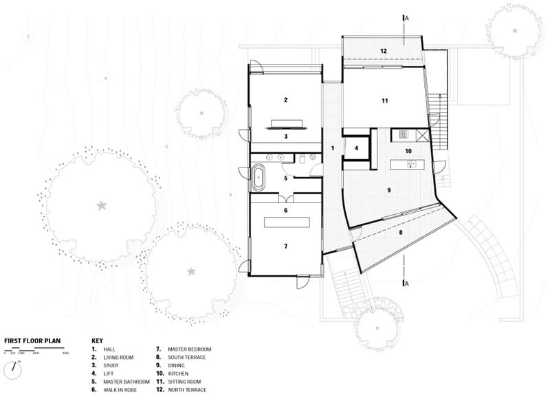 Port Fairy House  - Upper Level Floor Plan