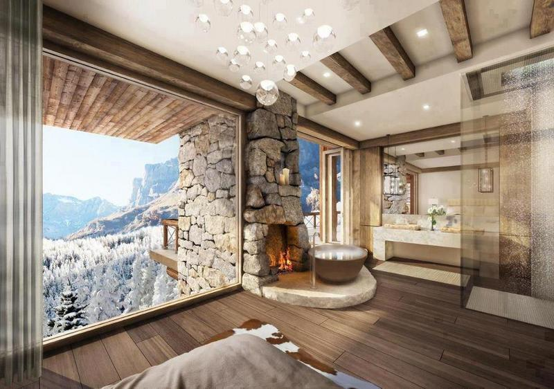I know it's hard, but look past the view.  What do you think of the bathroom?