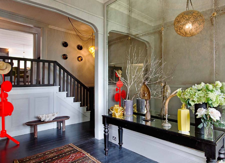 The entry foyer