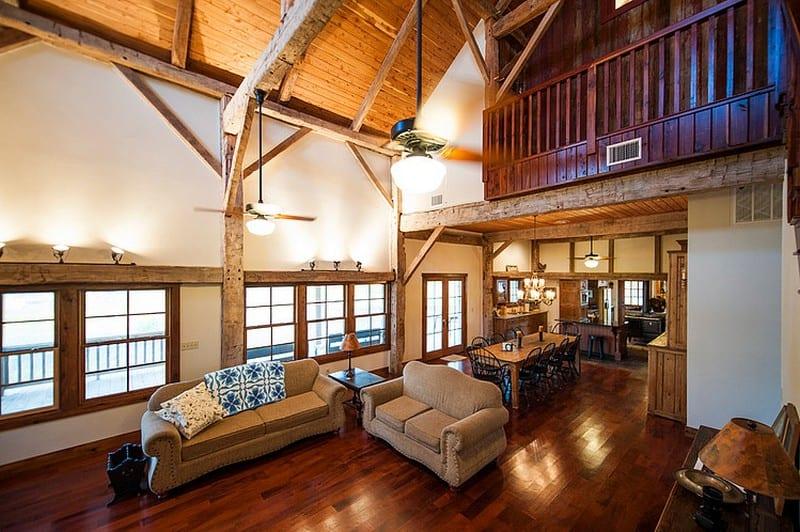 Fultonville Barn - Heritage Barns Architecture