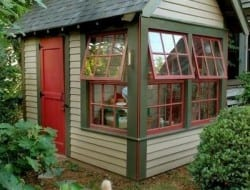 Once a garden shed