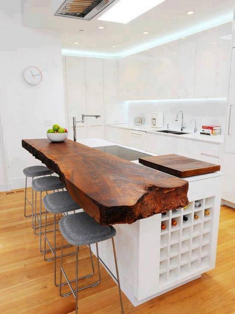 Дизайн кухни с барной стойкой :: nash homer - design your li.