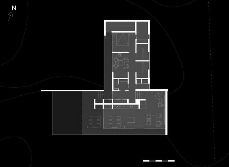 Island House - Plan