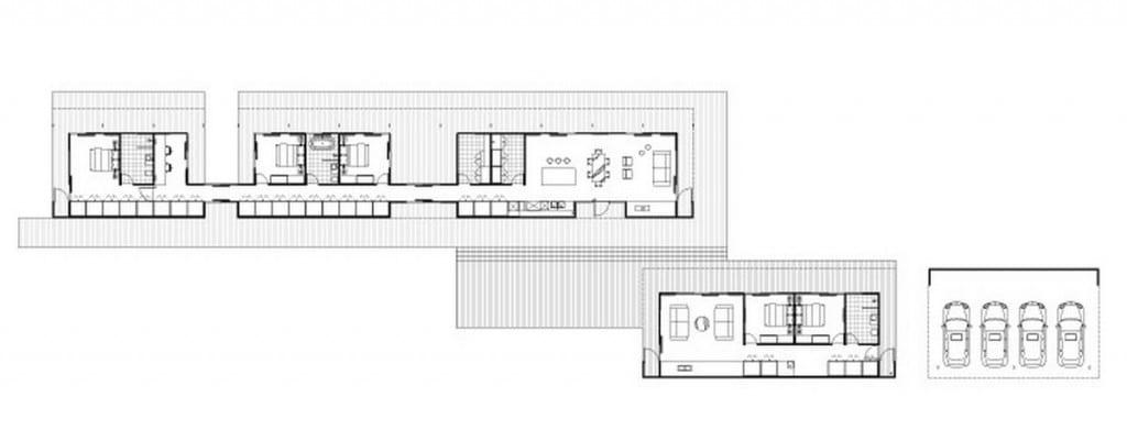 Floorplan - Kilmore modular design by Intermode and Carr Design Group