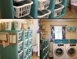 Does your laundry room require some organizing? Will this laundry basket dresser help?