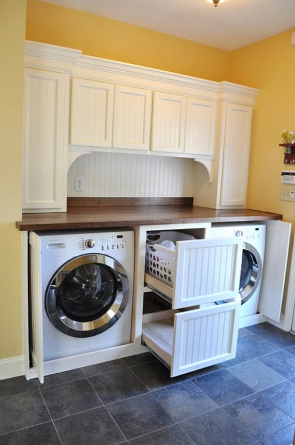 What do you like about this laundry room? What would you like to change?
