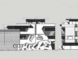 The Hive Apartment - concept elevations