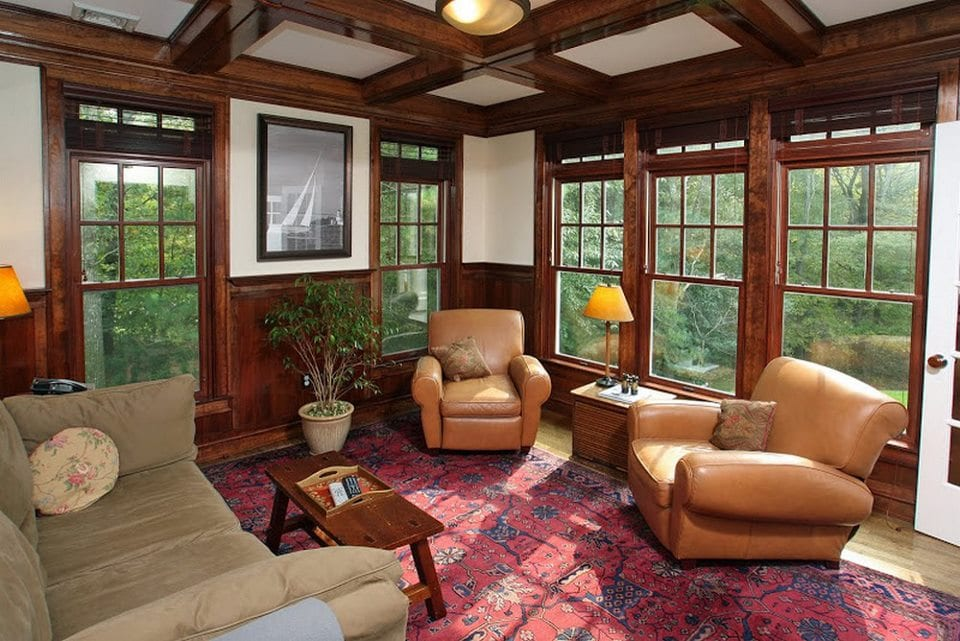 Reminiscences of a bygone era - the sunroom :) From Archia Homes