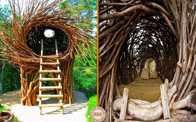 Looking for an extraordinary hotel experience? What do you think of these nest-like tree houses at the Treebones resort on California's scenic Big Sur Coast?