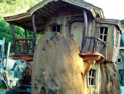 Now THAT is a treehouse!