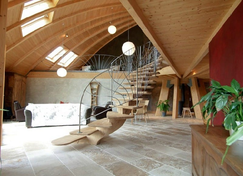 Domespace Staircase