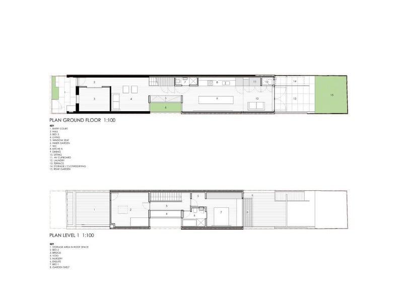 Erskineville House - Plan