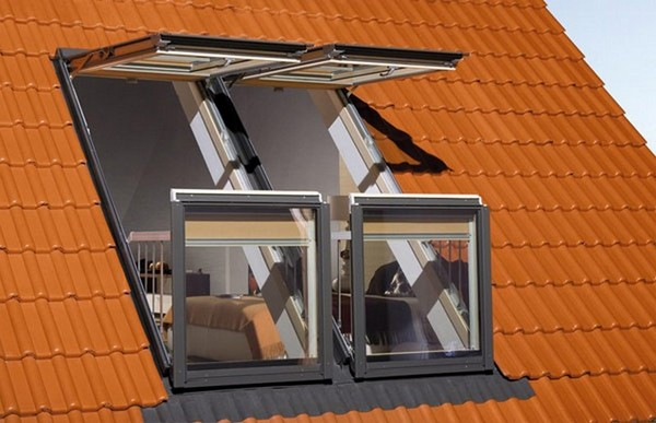 The Fakro window balcony. The Velux version is very similar.