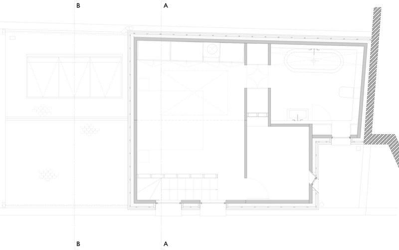 Gingerbread House - First Floor Plan