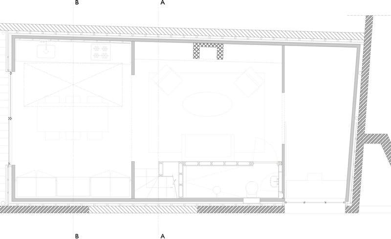 Gingerbread House - Ground Floor Plan