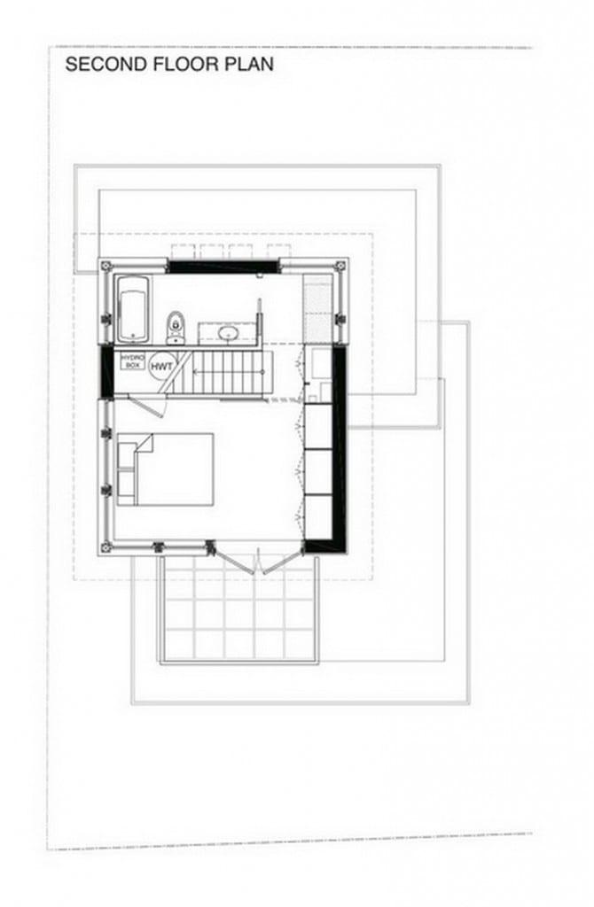 57th & Vivian - 'Net Zero' Solar Laneway House Floor Plan 02